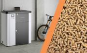 dove posizionare stufa, stufa vicino bici e a destra pellet